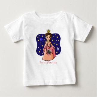 Taurus Princess Baby T-Shirt