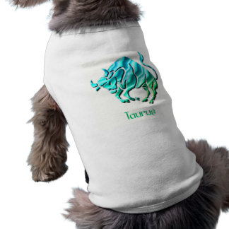 Taurus Sign Dog Shirt