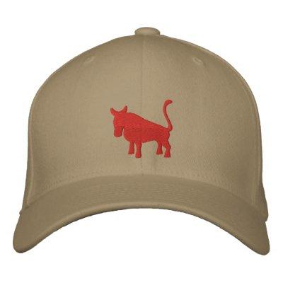 Taurus Sign Embroidered Baseball Caps