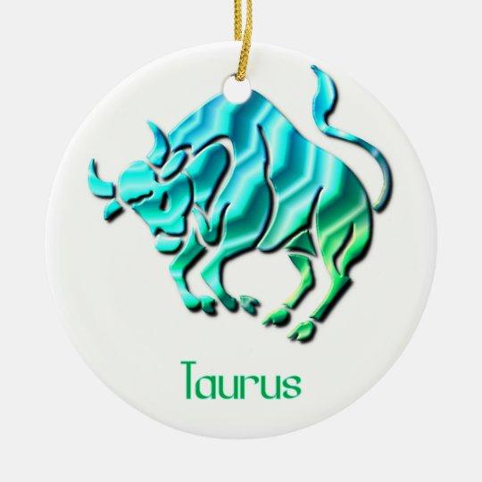 Taurus Sign Ornament