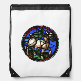 Taurus Stained Glass Windows Notre-Dame - Backpack