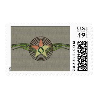 Taurus Star Postage Stamp
