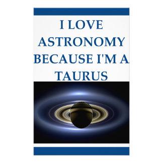 taurus stationery