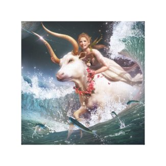 Taurus Stretched Canvas Prints