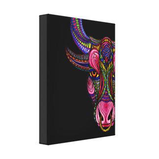 Taurus Symbol Canvas Print
