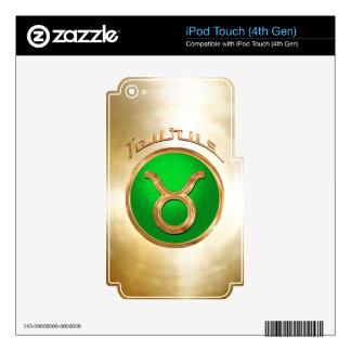 Taurus Symbol iPod Touch 4G Skins