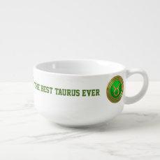 Taurus Symbol Soup Mug