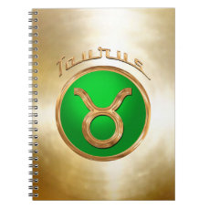 Taurus - The Bull Astrological Sign Spiral Notebook