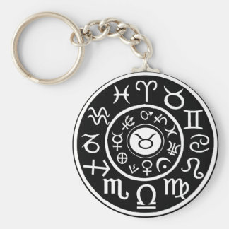 Taurus the Bull Celestial Zodiac Keychain