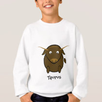 Taurus the Bull Cute Cartoon Animal Sweatshirt