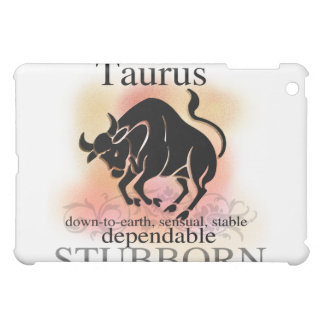 Taurus the Bull Horoscope Sign  iPad Mini Cover