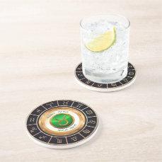 Taurus - The Bull Horoscope Symbol Drink Coaster