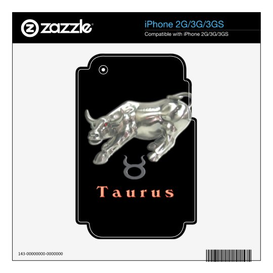 Taurus the bull Items Skins For iPhone 3G