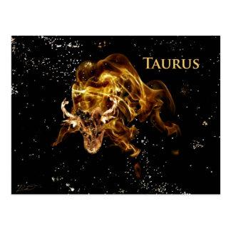 Taurus the Bull Postcard