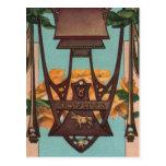 Taurus the Bull - Zodiac Postcards