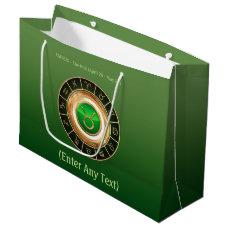 Taurus - The Bull Zodiac Sign Large Gift Bag