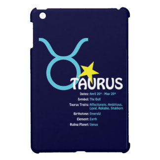Taurus Traits Dark iPad Case