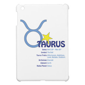 Taurus Traits iPad Case