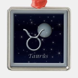 Taurus Venus Premium Square Ornament