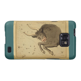 Taurus - Vintage Sign of the Zodiac Image Galaxy S2 Covers