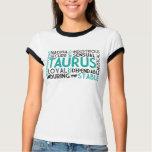 Taurus Word Collage Shirt