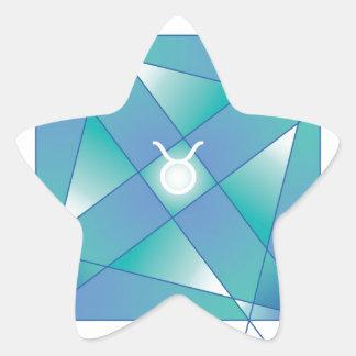 TAURUS-YANTRA STAR STICKER