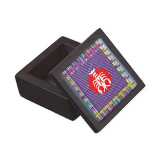 TAURUS Zodiac Astrology Jyotish Symbols Gift Box