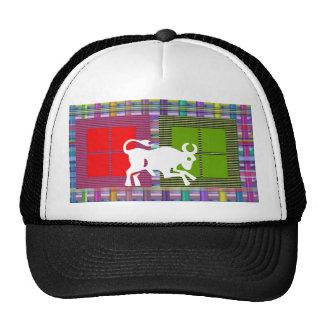 TAURUS Zodiac Astrology Jyotish Symbols Trucker Hat