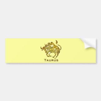 Taurus Zodiac Bumper Sticker