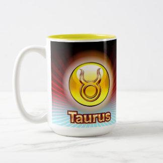 TAURUS ZODIAC COFFEE MUG-Apr 21-May 21