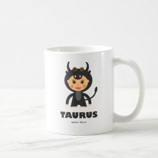 Taurus Zodiac for Kids Coffee Mug