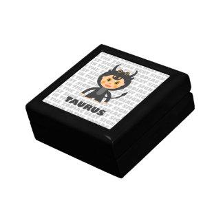 Taurus Zodiac for Kids Keepsake Box