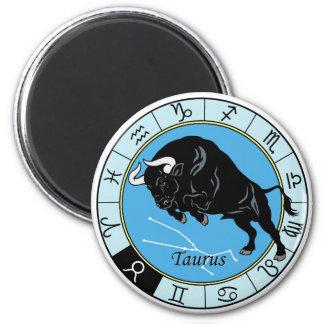 taurus zodiac refrigerator magnet