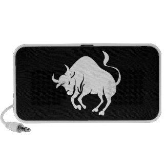 Taurus Zodiac Pictogram Doodle Speaker