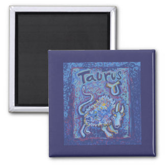 Taurus, Zodiac Products Magnet