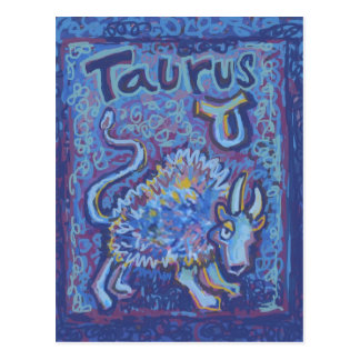 Taurus, Zodiac Products Post Cards