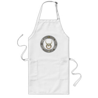 Taurus Zodiac Sign Long Apron