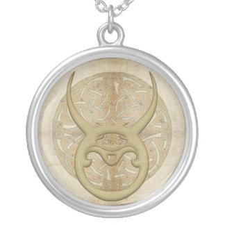 Taurus Zodiac Sign Necklace