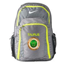 Taurus Zodiac Sign Nike Backpack