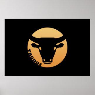 Taurus Zodiac Sign Posters
