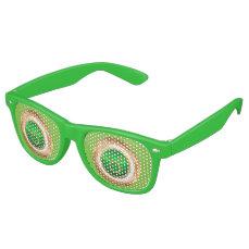 Taurus Zodiac Sign Retro Sunglasses