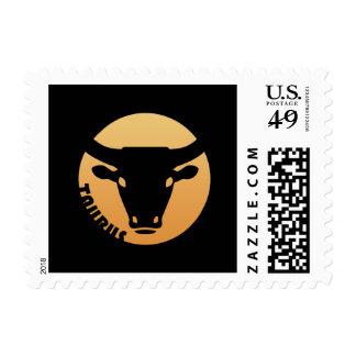 Taurus Zodiac Sign Stamp