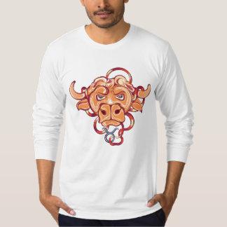 Taurus Zodiac Sign T-Shirts for multi gender