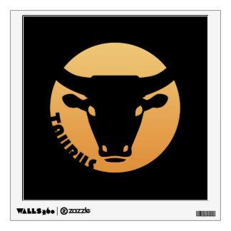 Taurus Zodiac Sign Wall Graphic