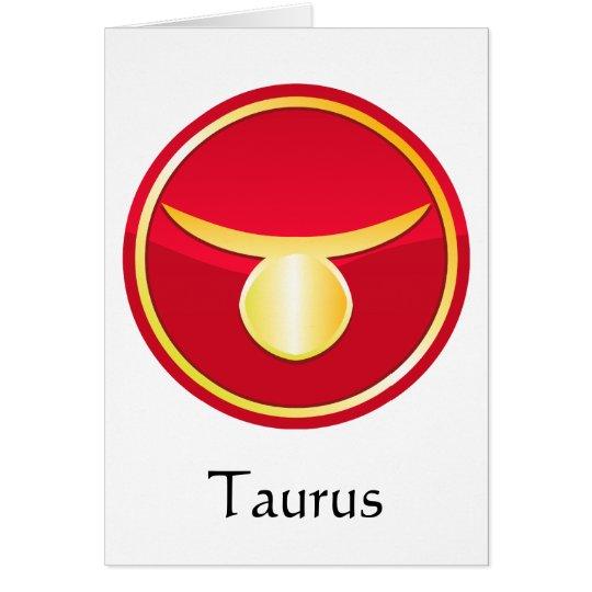 Taurus - Zodiac Signs Card