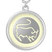 Taurus Zodiac Star Sign Silver Premium necklaces