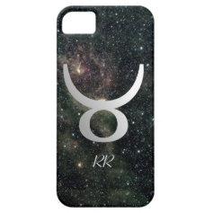 Taurus Zodiac Star Sign Universe iPhone 5 Case