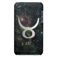 Taurus Zodiac Star Sign Universe Ipod Touch Case at Zazzle