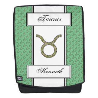 Taurus Zodiac Symbol Element by Kenneth Yoncich Backpack