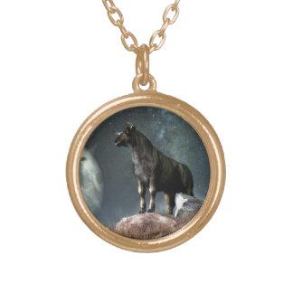 Taurus Zodiac Symbol Necklace